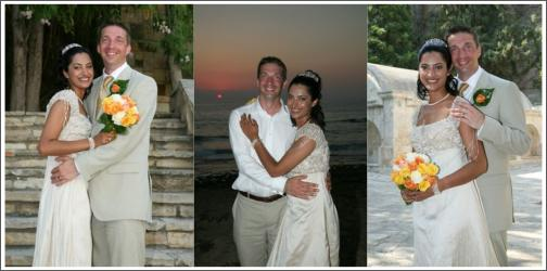 Real Wedding in Cyprus Ashfan & Guy by Paphos Wedding Belles