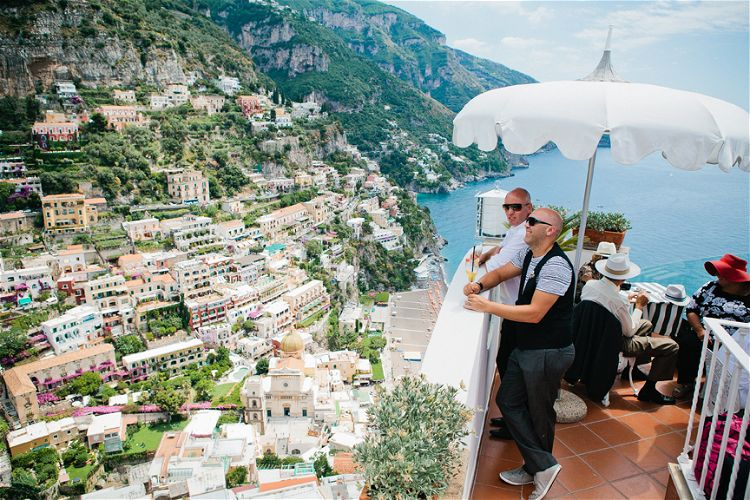 Felicity And Trent S Amalfi Coast Wedding
