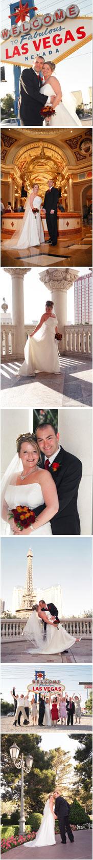 Real Wedding in Las Vegas Venessa and Ian