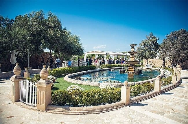 Villa Arrigo - Our Top Tips for the Best Wedding Venue in Malta. We look at the five best wedding reception venues and tell you why they stand out from the rest. // WedOurWay - idoweddingsmalta.com // WeddingsAbroadGuide.com