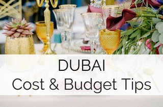 Cost of a Wedding in Dubai