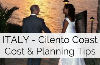 Cost of a Wedding in Cilento Coast Italy
