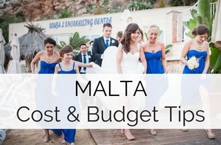 Malta Destination Wedding Guide - Cost & Budget Tips