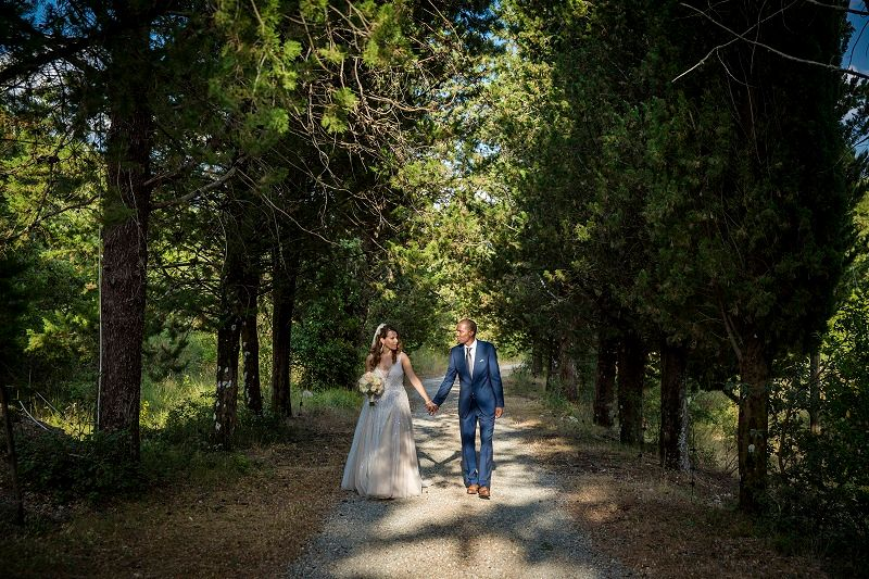 Chiara & Damian's Destination Wedding In Chianti - by WedinItaly Luxury Wedding Planners // Castello di Meleto // Carlo Carletti Photography
